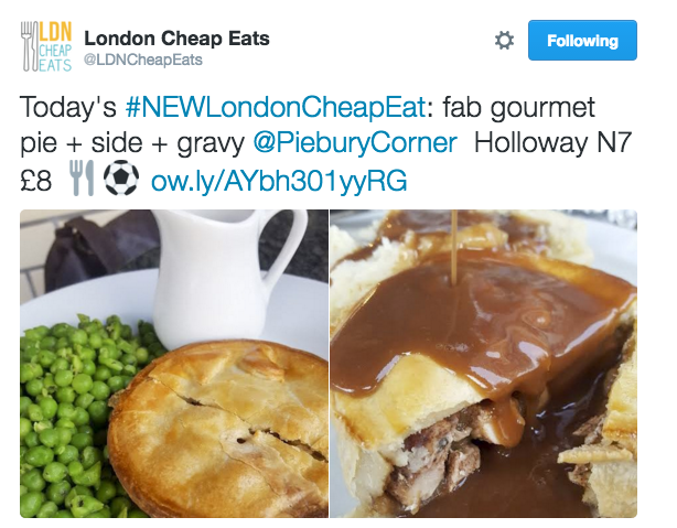 London Cheap Eats